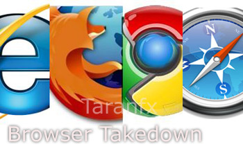 browsers chrome ie safari firefox