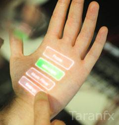 hand sensor input
