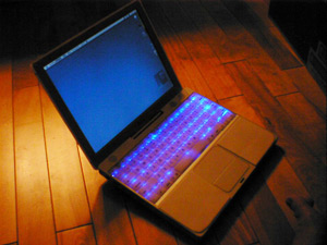 inside your keyboard so as to illuminate the keyboard from inside. Black Bedroom Furniture Sets. Home Design Ideas