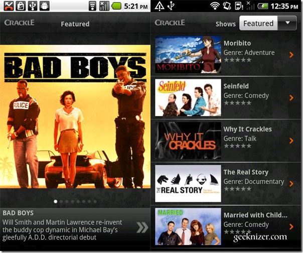 android-crackle