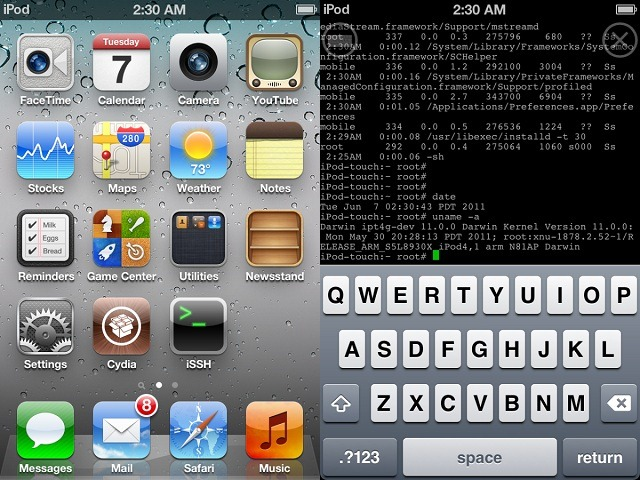 JAILBREAK IOS 5 iPhone, iPod Touch