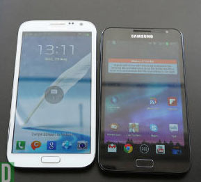 Galaxy Note 2 vs. Original Note