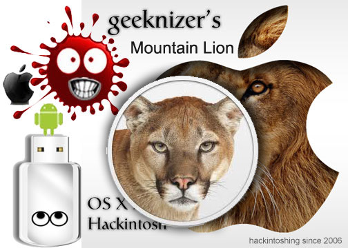 How To Install OS X Mountain Lion Hackintosh On A PC