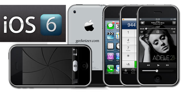 geeknizer install ios 6 on iphone 2g 3g ipod touch 1g. Black Bedroom Furniture Sets. Home Design Ideas