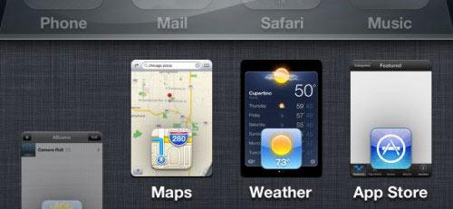 iphone 4s ios 6 multitasking