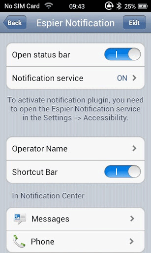 Ios6 Launcher Status Bar Notifications Banners On Android