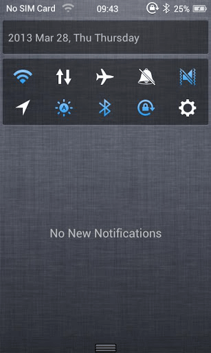 iOS6 Launcher, Status Bar, Notifications, Banners on Android
