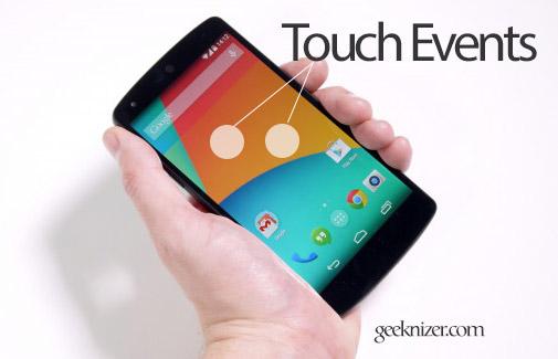 touchevents