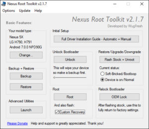 nexus-root-toolkit