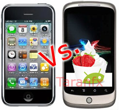 iPhone OS 4 vs Android2.2