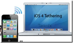 iphone tether ios4
