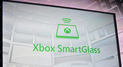 Smart Glass-an Extra Dimension to Your Xbox